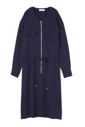 DIRECTOIRE 胸ポケットジップワンピース