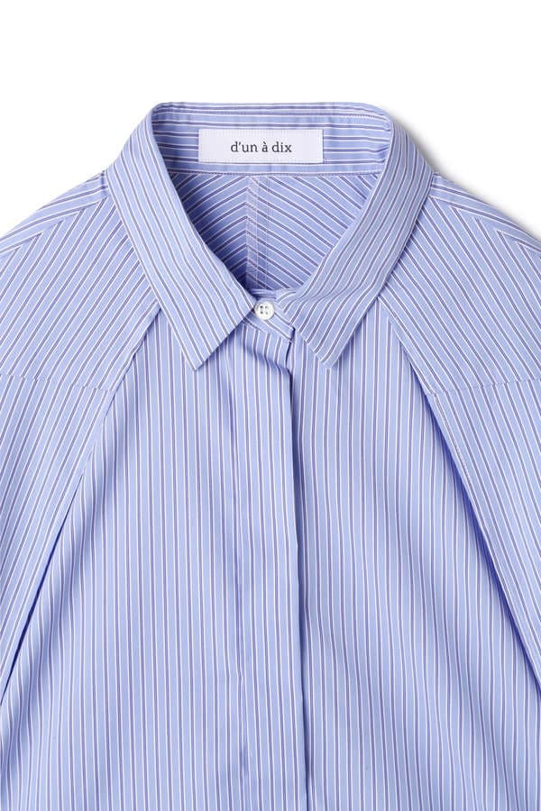 dunadix 3WAYストライプシャツ