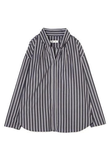 DIRECTOIRE ストライプスラッシュシャツ