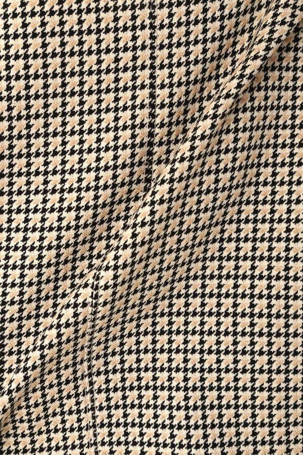 Unaca noir 千鳥Aラインスカート(セットアップ対象商品)