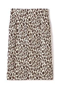 dunadix レオパードタイトスカート