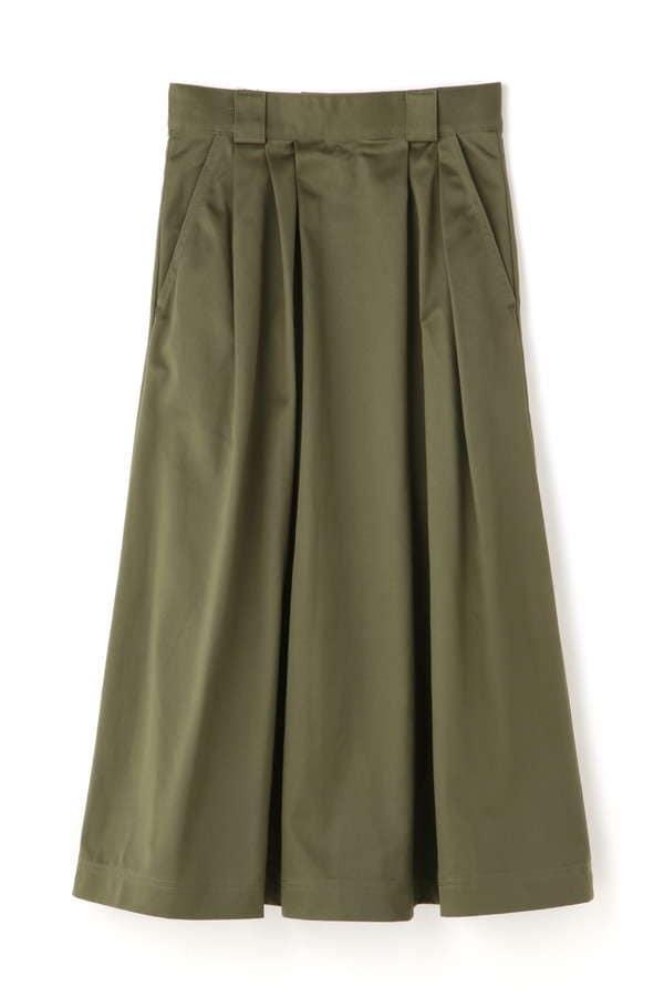 Luxluft チノフレアスカート