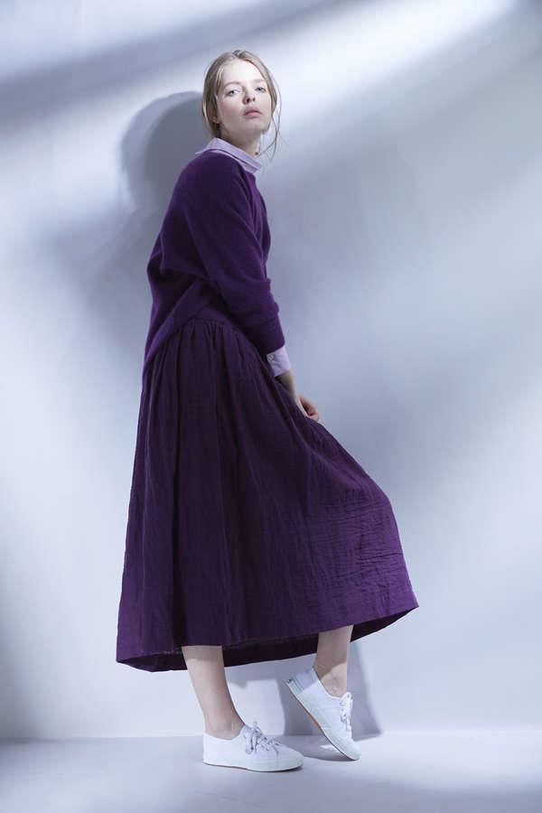 【先行予約 9月上旬 入荷予定】ワンストラップロングスカート