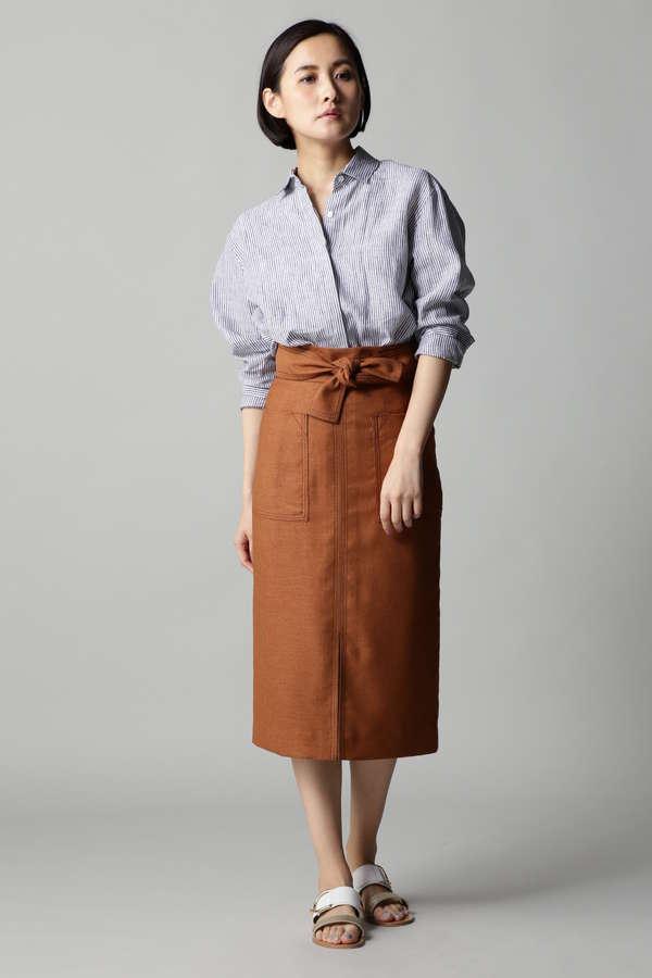 2WAYリネンシャツ