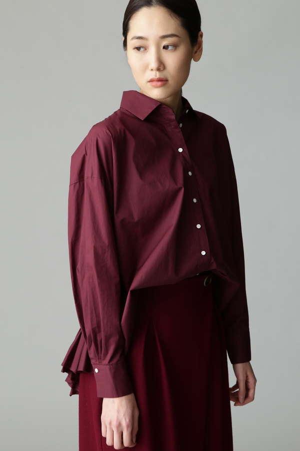 【先行予約 9月下旬 入荷予定】バックハンドギャザーシャツ