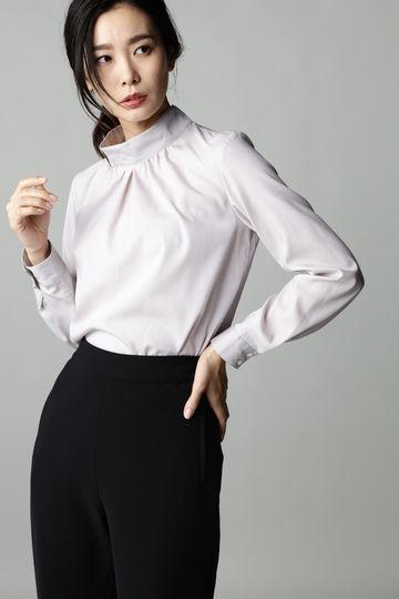 【先行予約 10月上旬 入荷予定】Luxluft ハイネックプルオーバーシャツ