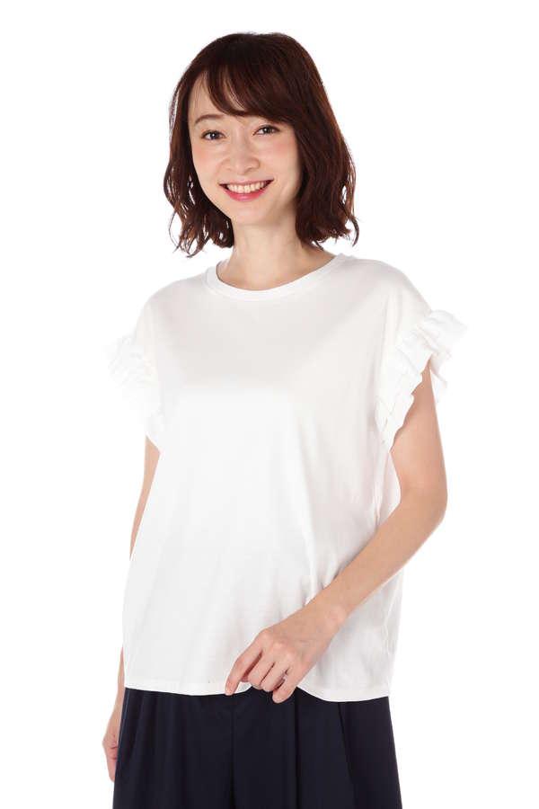 FORDMILLS / 布帛コンビTシャツ