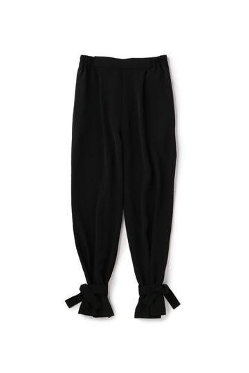裾リボンデザインパンツ