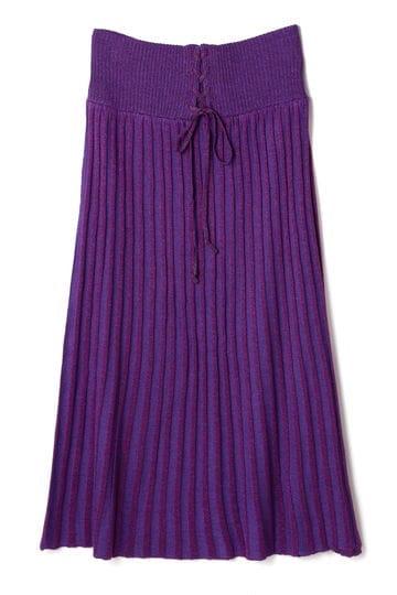 ラメリブスカート