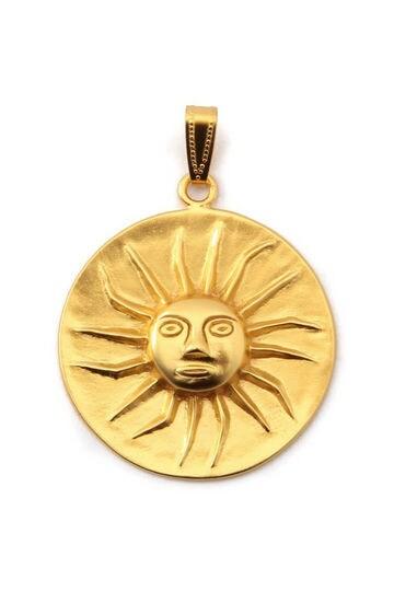 太陽モチーフネックレストップ