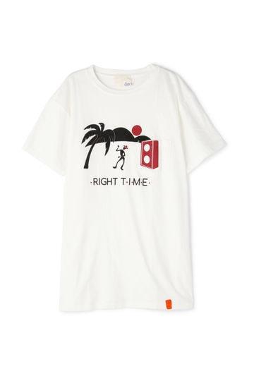 TONY プリントTシャツ