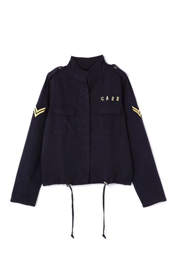 [RAILS]ミリタリーシャツジャケット