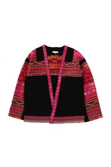 民族調デザインジャケット