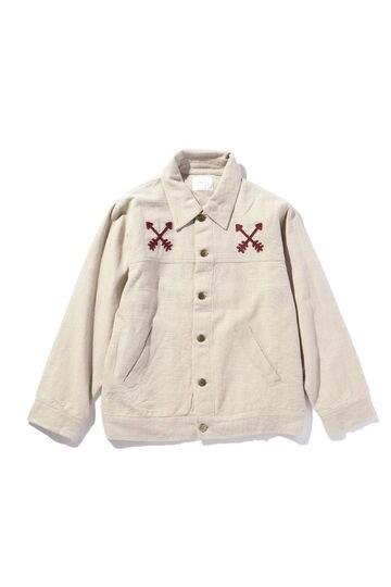刺繍入りジャケット