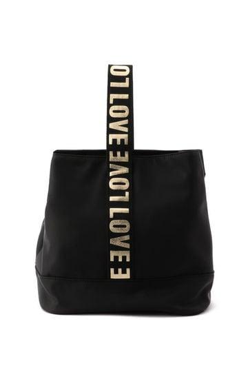 ロゴ入りデザインバッグ