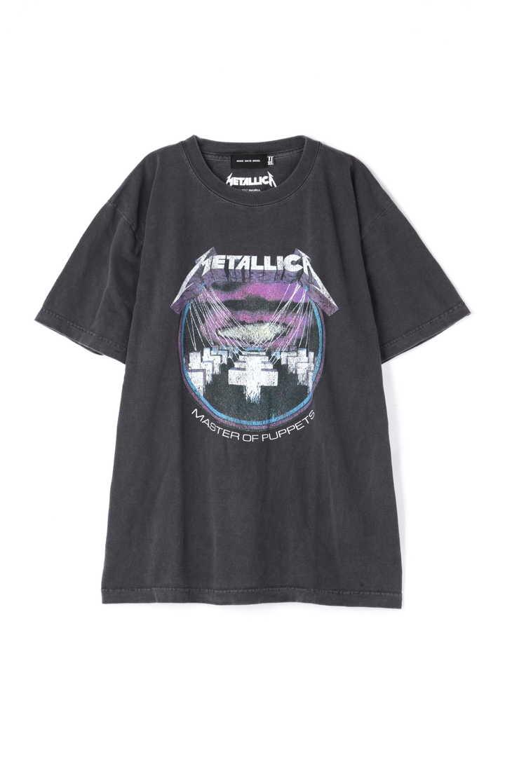 METALICAプリントTシャツ