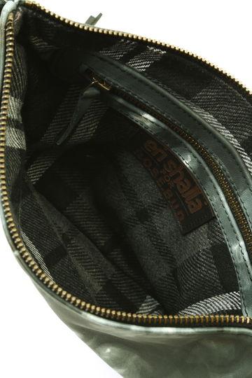 メタリックフリンジバッグ
