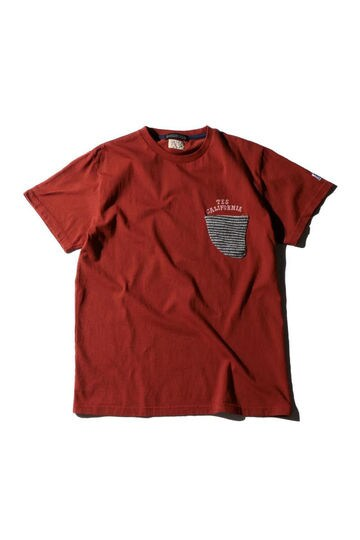 The Endless Summer×ROSE BUD COUPLES パイルポケットTシャツ