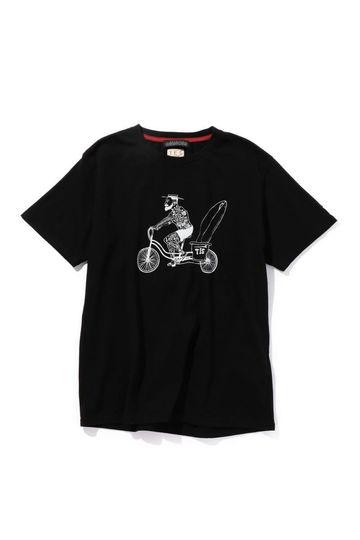 サーファープリントTシャツ