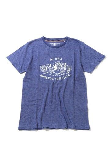 メンズフロントプリントTシャツ