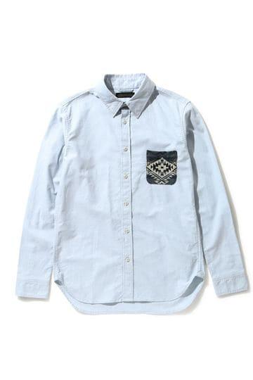 ネイティブポケットシャツ