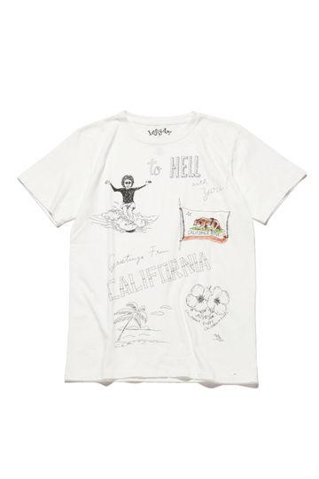メンズプリントTシャツ