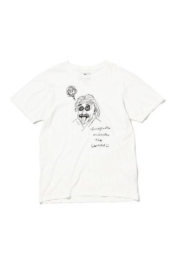 メンズフロッキープリントTシャツ