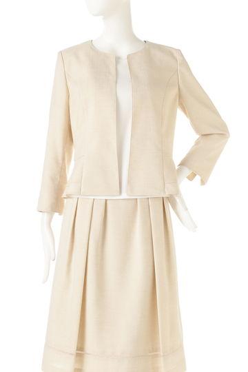 リネンタッチジャケット