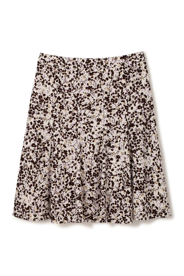 ポップフラワープリントスカート