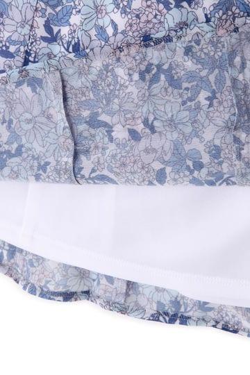 [ウォッシャブル]フラワーPtエスパンディスカート