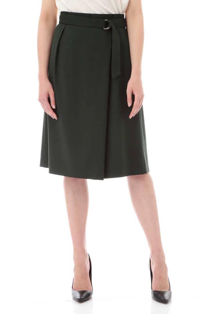 【先行予約 8月上旬 入荷予定】ツイルラップスカート