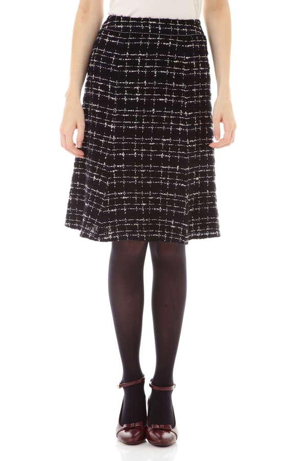 【先行予約 11月上旬 入荷予定】ファンシーツイードスカート