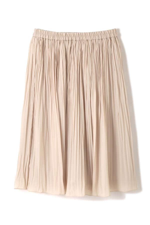 パウダープリーツスカート