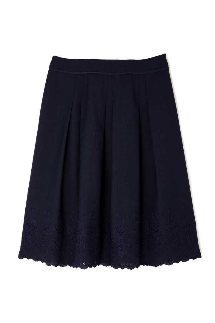リネンライク刺繍スカート