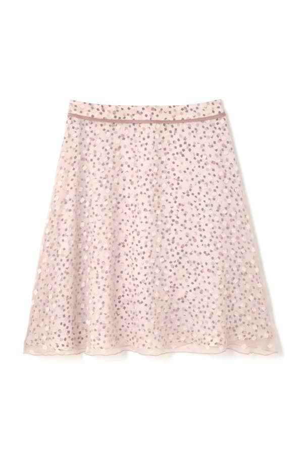 幾何PT2枚重ねスカート