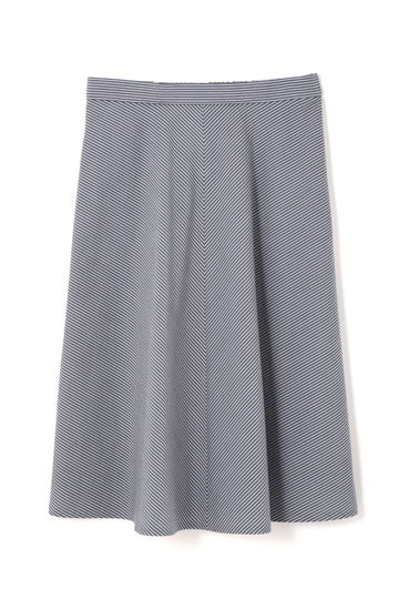 ドビーリップルストライプスカート