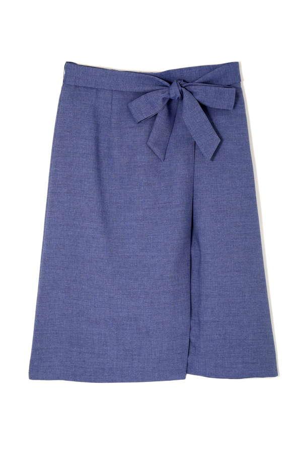 [WEB&一部店舗限定]リネンタッチスカート(セットアップ対応商品)