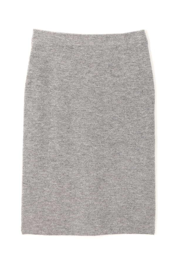 【Oggi 12月号掲載】畦ニットアップスカート(セットアップ対応商品)