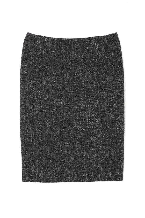 ニットドッキングツイードスカート(セットアップ対応商品)