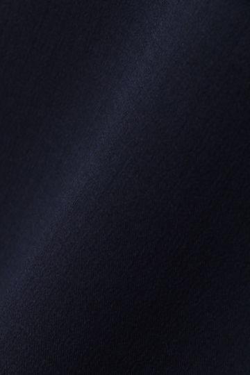 [サックス/ブルーWEB限定]【STORY5月号掲載】[ウォッシャブル]モックツイストブラウス【UNDER15000】