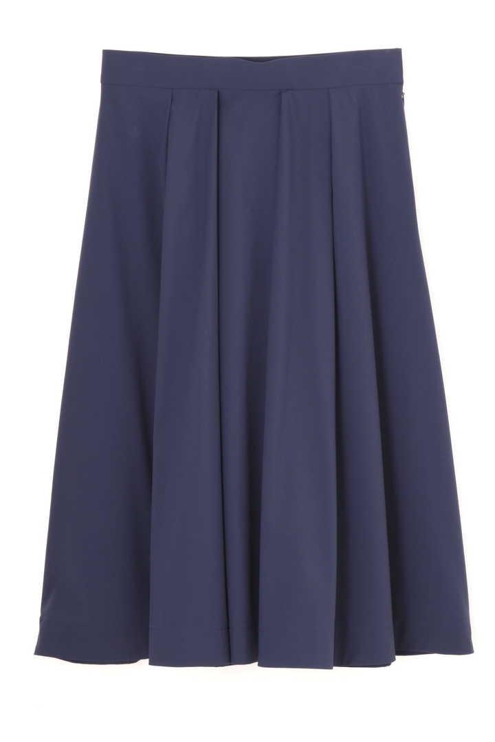 [ウォッシャブル]タックボリュームスカート