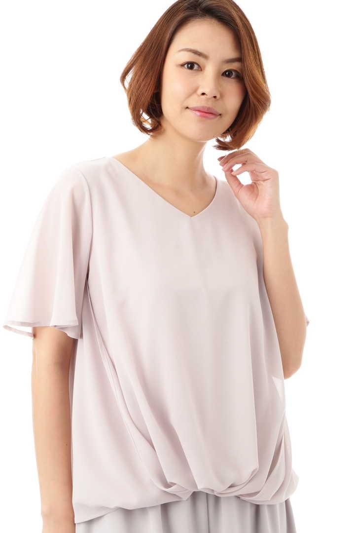 [ウォッシャブル]サイドタックブラウソー【UNDER15000】