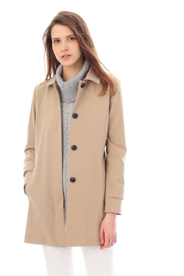 (36~42サイズ)スーパーハイゲージタフタジャージースプリングコート