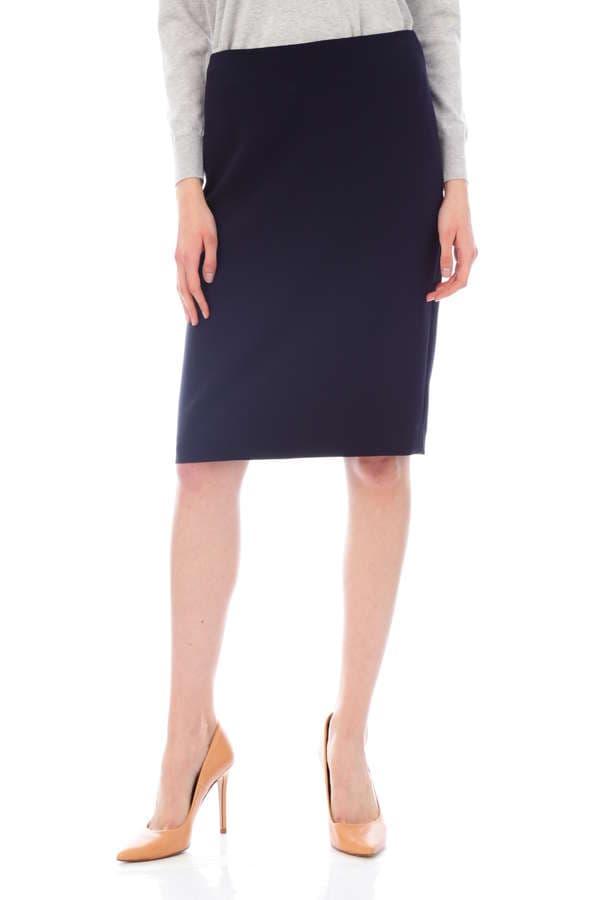 トリアセ二重織スカート