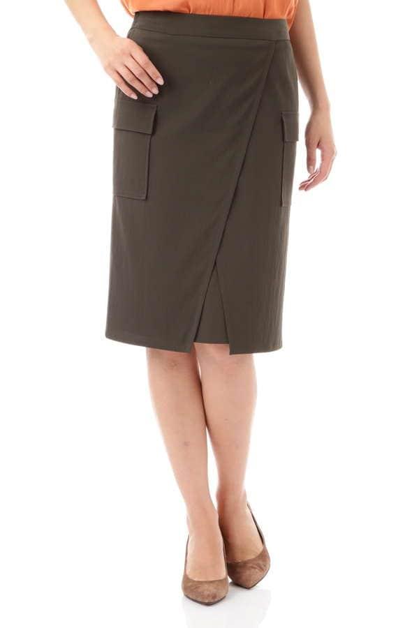 ラチネラップスカート