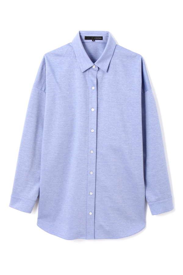 オーバーサイズジャージーシャツ