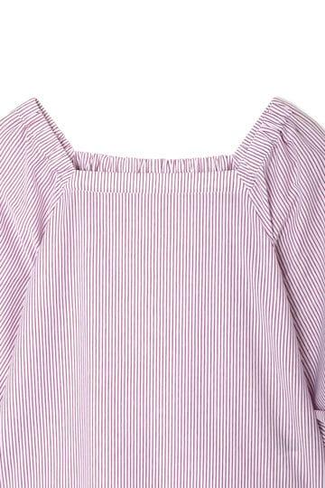 【先行予約 5月中旬入荷予定】ストライプジャージーシャツ