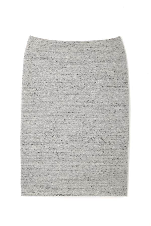 ジャージーネップツイードスカート