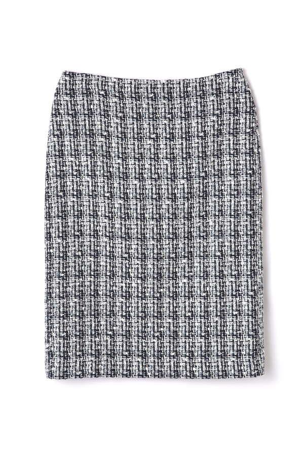 ツイードセットアップスカート