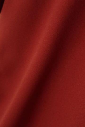 [WEB限定カラー・パープル][ウォッシャブル][PRE FALL]スリットブラウス【15000UNDER】